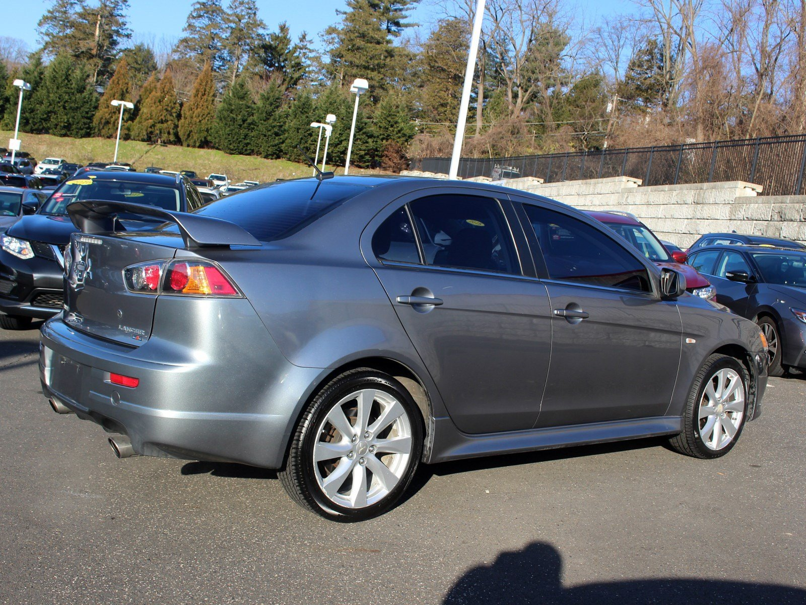 Pre-Owned 2013 Mitsubishi Lancer Ralliart
