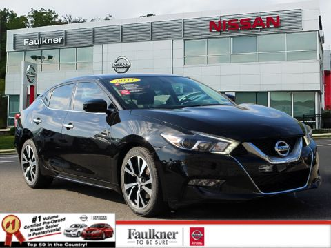 Certified Pre-Owned 2017 Nissan Maxima S