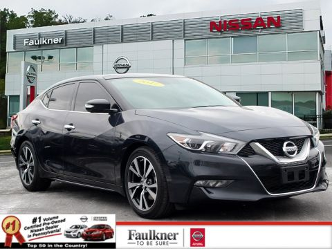 Certified Pre-Owned 2017 Nissan Maxima Platinum